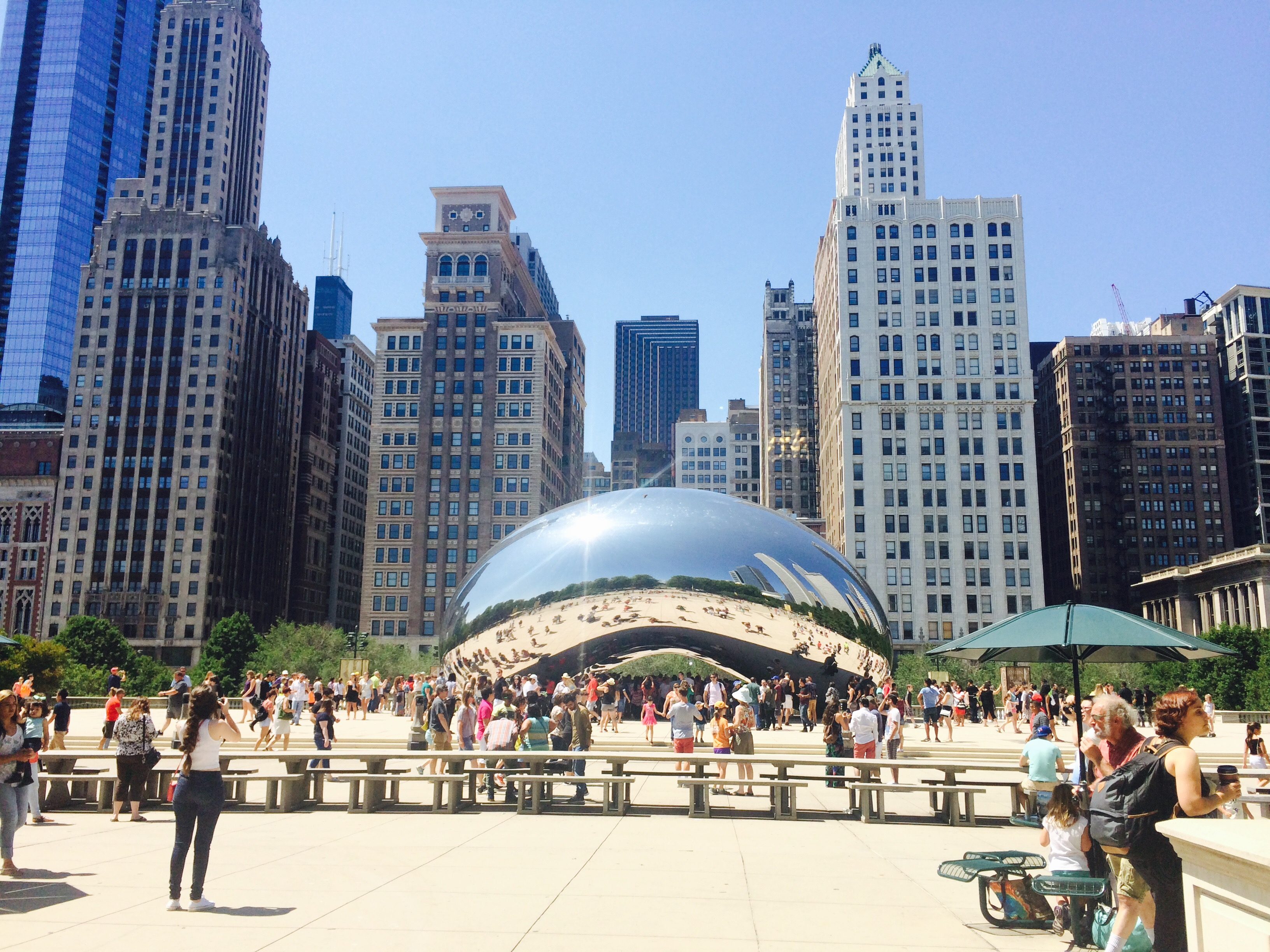 The Bean at Millineum Park - Cloud Gate