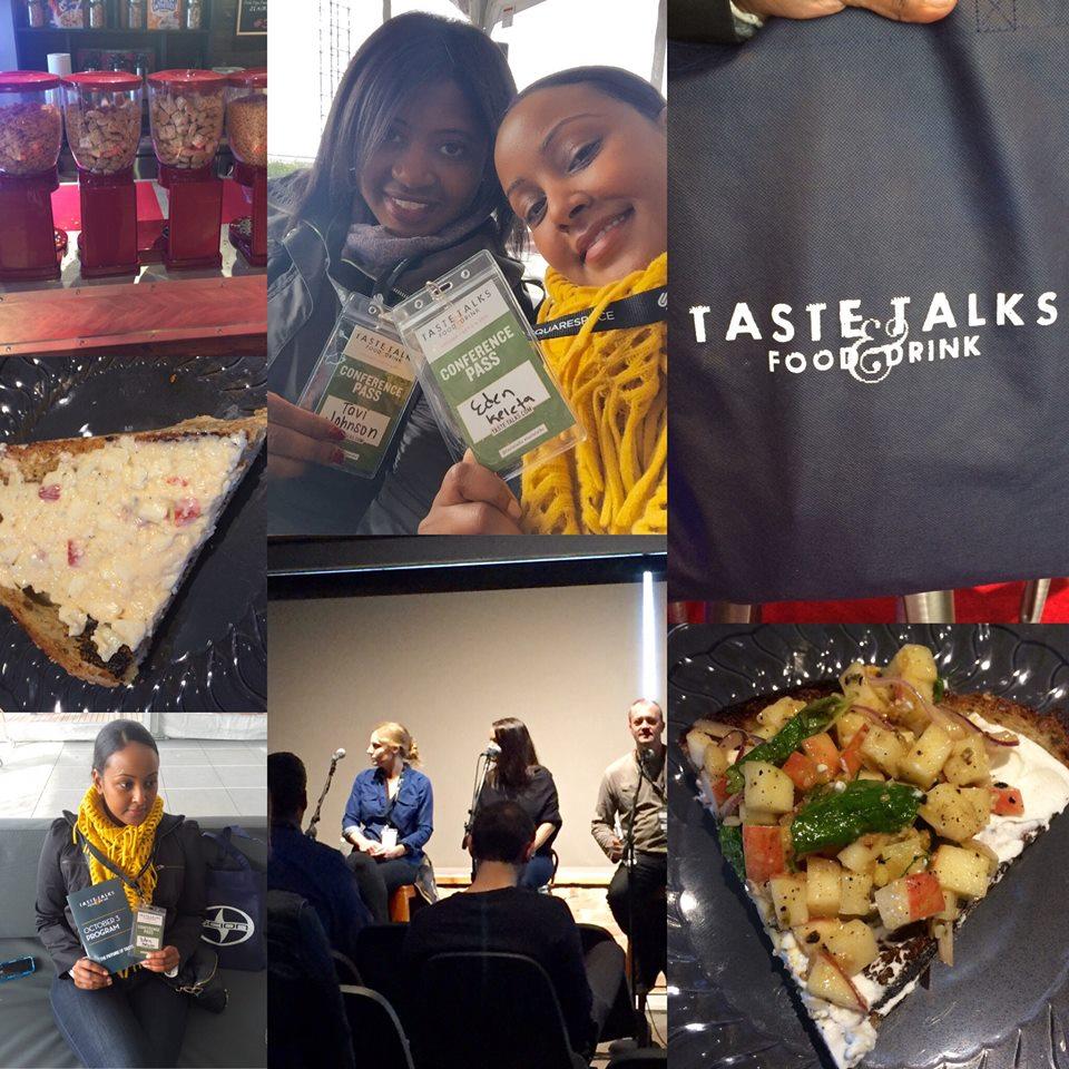 Taste Talks - Collage