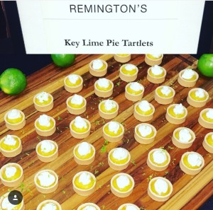 Remington's Key Lime Pie Tartlets from First Look For Charity Event
