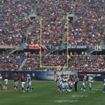 October 2nd:  Chicago Bears Vs. Detroit Lions at Soldier Field Stadium