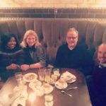 Dinner with the Maya Romanoff Team! – Leader in Handcrafted Wall Coverings