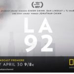 "Chicago Screening of National Geographic Documentary Film ""LA92"""