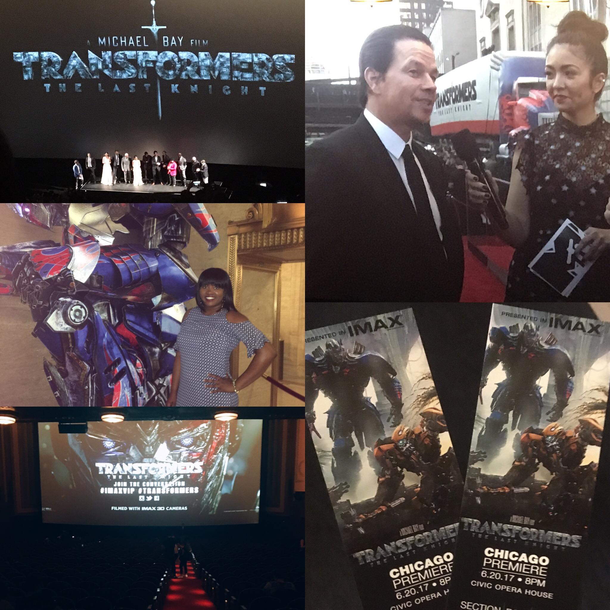 Transformers U.S. Premiere