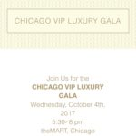 Event Alert! Chicago VIP Luxury Gala – October 4th
