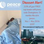 Peace Power Napping – Nap Studio opens in downtown Chicago!