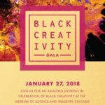 Event Alert! Black Creativity Gala – 1/27/2018