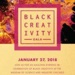 Event Alert! Black Creativity Gala – 1/27/2018