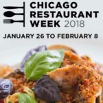 Event Alert! Chicago Restaurant Week 2018