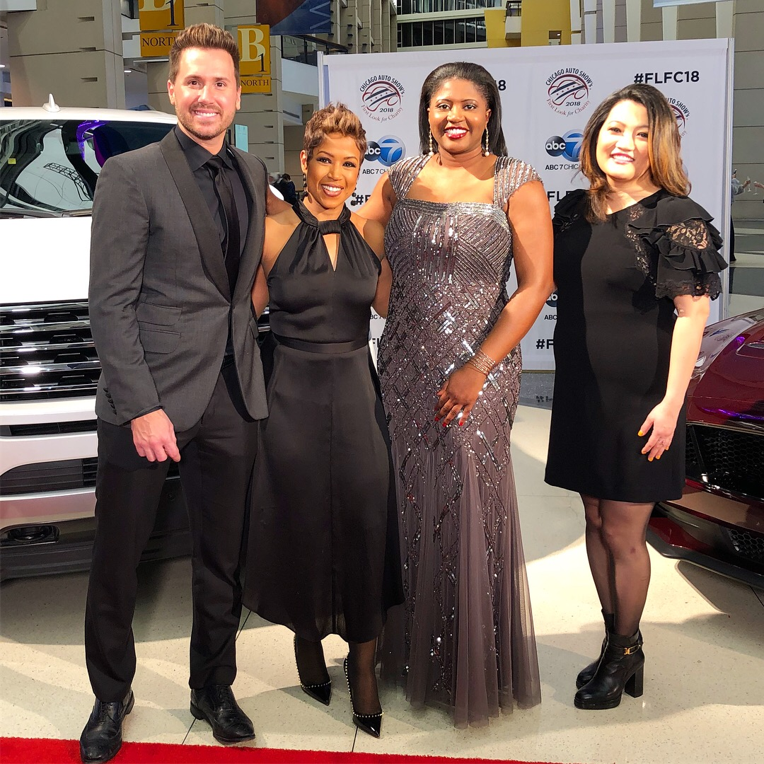 Windy City Live at First Look For Charity Auto Show