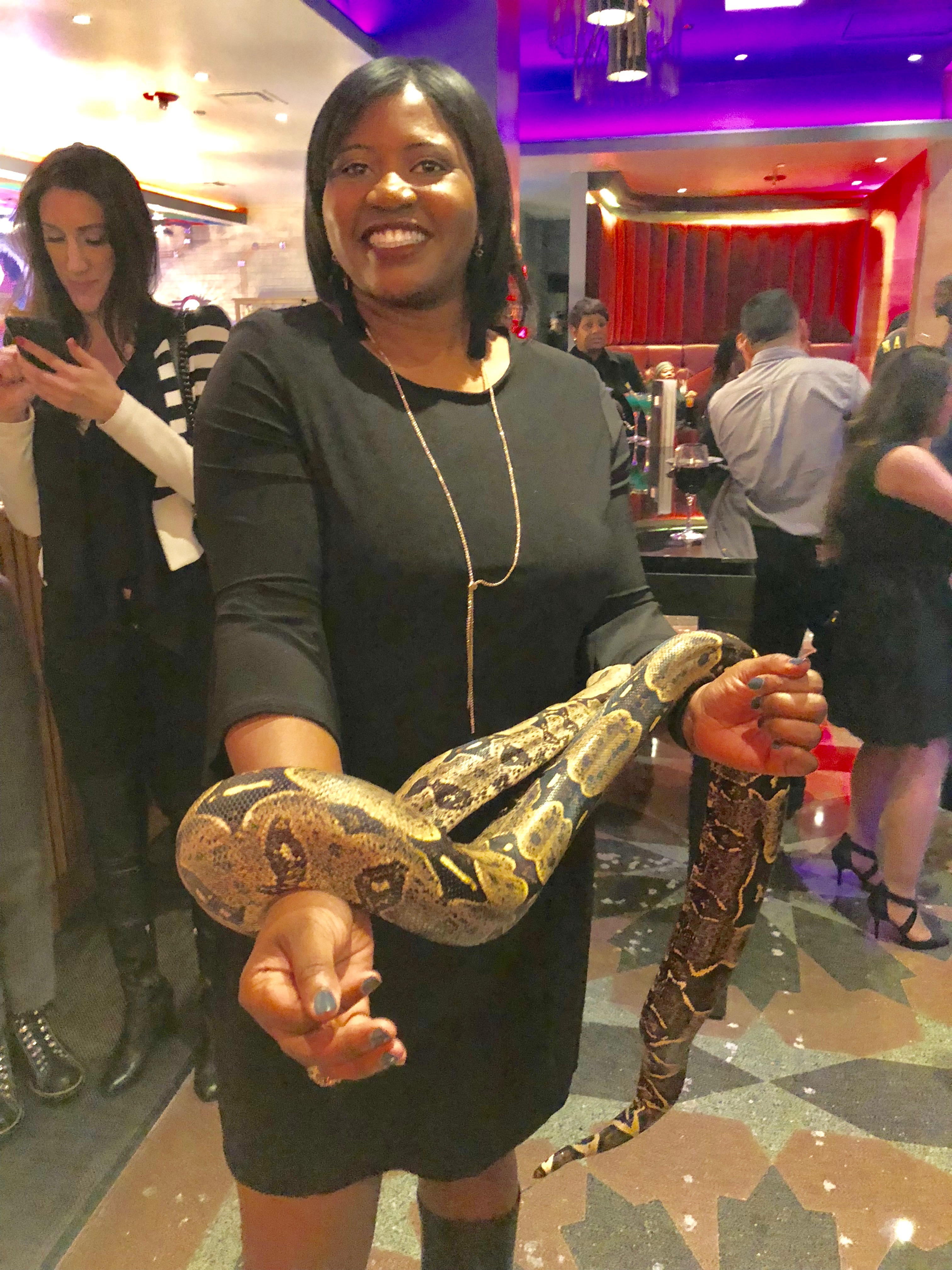 Tavi J and Snake