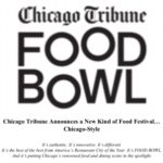 Event Alert! Chicago Tribune Food Bowl Festival – Aug. 8th – Aug 26th 2018