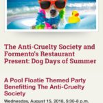 Event Alert! Dog Days of Summer – August 15th