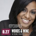Event Alert! Words & Wine with Regine T. Rousseau – August 27th