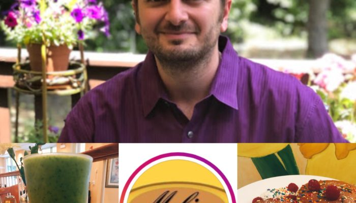 August 2018 – Angelo Georgacopoulos: Meli Café Chicago – Spotlight Feature