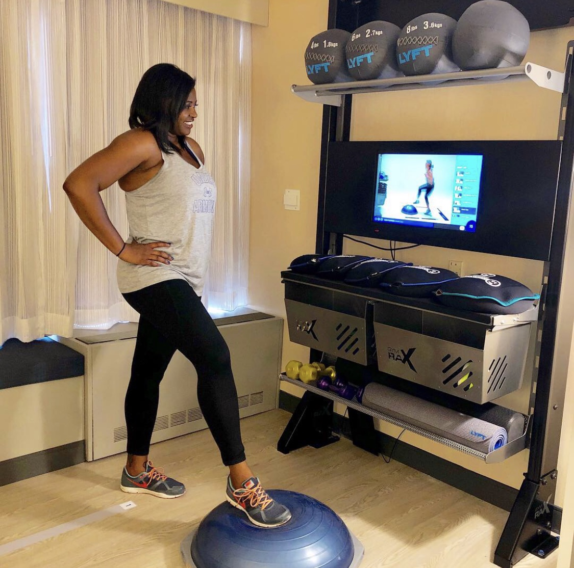 "Double Tree By HIlton ""Five Feet To Fitness"" Room"