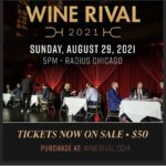 The 4th Annual Wine Rival – August 29th